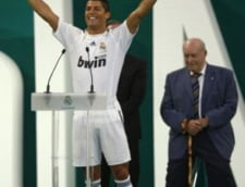 Cristiano Ronaldo, prezentat la Real Madrid: Mi s-a indeplinit visul