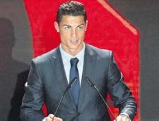 Cristiano Ronaldo, umplut de premii la Gala LFP din Spania. Messi a ramas cu mana goala
