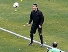 Cristiano Ronaldo a provocat isterie in Uzbekistan (Video)