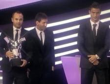Cristiano Ronaldo facut sah-mat la Gala UEFA