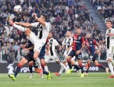 Cristiano Ronaldo intra in istoria fotbalului dupa golul marcat cu Genoa