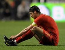 Cristiano Ronaldo s-a accidentat din nou