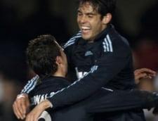 Cristiano Ronaldo si Kaka au facut show pentru Real Madrid