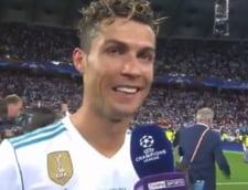 Cristiano Ronaldo si-a anuntat plecarea de la Real Madrid, dupa castigarea Ligii Campionilor