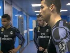 Cristiano Ronaldo si-a certat colegii la Napoli (Video)