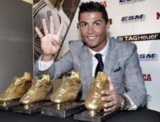 Cristiano Ronaldo surprinde dupa ce a primit Gheata de Aur: Nu sunt multumit