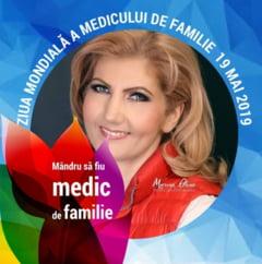 """Cristina Elena Dinu: """"La Multi Ani tuturor colegilor!"""""""
