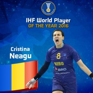 Cristina Neagu, cea mai buna handbalista din lume, a intrat in Cartea Recordurilor - oficial