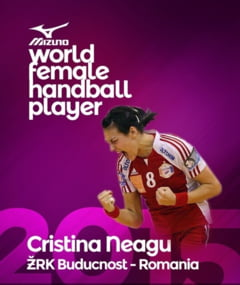 Cristina Neagu, desemnata cea mai buna jucatoare de handbal din lume - ce transfer o asteapta