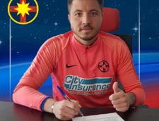 """Criticat de Becali, """"Pufi"""" Balgradean si-a prelungit contractul cu FCSB"""