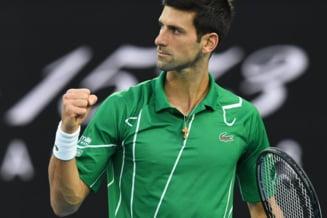 Criza de nervi a lui Novak Djokovici la adresa arbitrului de scaun in timpul finalei de la Australian Open