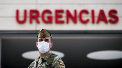 Criza din Spania atinge noi varfuri: 824 de morti si 6.500 de cazuri de infectari, in doar 24 de ore