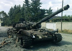 "Criza din Ucraina: Trei tancuri rusesti ""au venit sa elibereze tara"" (Video)"