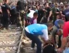 Criza imigrantilor: Noi incidente la frontiera dintre Grecia si Macedonia