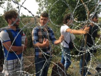 Criza imigrantilor: Slovenii folosesc gaze lacrimogene la granita cu Croatia