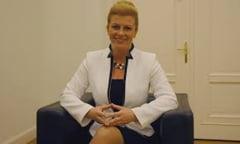 Croatia si-a ales o femeie presedinte