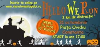 Cros inedit de Halloween in orasul Constanta