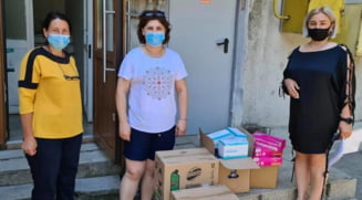 Crucea Rosie Calarasi a facut mai multe donatii zilele trecute