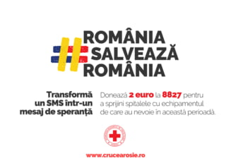 Crucea Rosie lanseaza campania nationala de strangere de fonduri Romania salveaza Romania