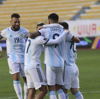 Cu Messi pe teren, Argentina a pierdut doua puncte acasa, in America de Sud