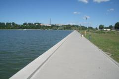 Cu amendamentul consilierilor locali PSD, Pescuitul in Lacul Ciuperca este permis in luna mai