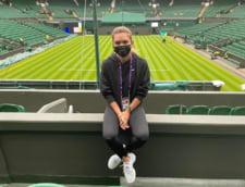 Cu cine a tinut Simona Halep sa-si faca o poza la Wimbledon: Darren Cahill a fost fotograful VIDEO
