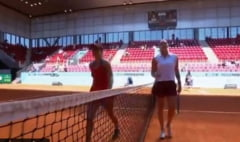 Cu cine ar fi jucat Simona Halep in sferturi la Madrid. E tenismena cu cea mai mare ascensiune in circuitul WTA