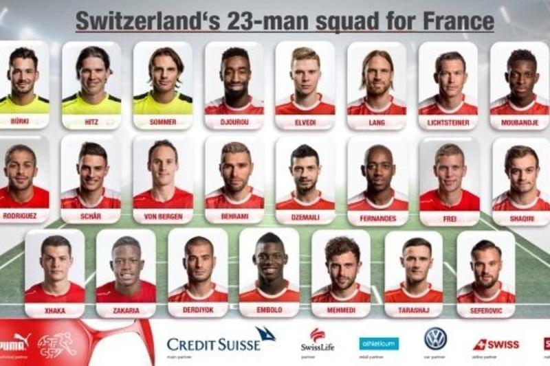 Cu ei ne batem la EURO 2016: Elvetia a anuntat lotul final de jucatori