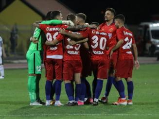 Cu multi jucatori bolnavi de coronavirus, FCSB a reusit sa castige fara emotii in Liga 1