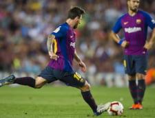 Cu un gol sclipitor al lui Messi, Barcelona incepe entuziasmant sezonul din La Liga