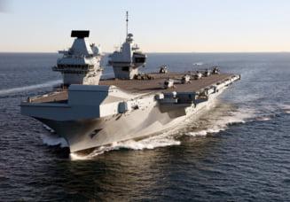"""Cu un portavion """"schiop"""", rusii rad de Marea Britanie, numind-o peiorativ """"Stapana Marii"""""""