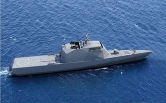 Cu un portavion care rugineste la cheu, rusii spun ca au construit nave stealth. Statele Unite au deja doua distrugatoare invizibile