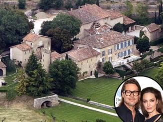 Cuibusorul de nebunii al cuplului Jolie-Pitt: Ce primesti de 60 de milioane de dolari (Video)