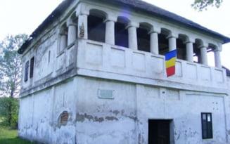 Cula viteazului pandur Tudor Vladimirescu, in degradare