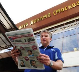 Culisele semnarii contractului dintre Dan Petrescu si Dinamo Moscova