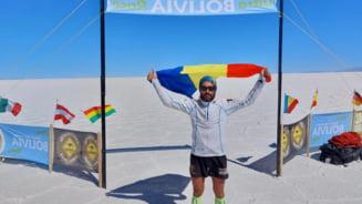 Cum a ajuns un pompier din Botoșani să câștige ultra-maratonul Boliviei, organizat la 4000 de metri altitudine