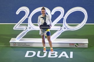 Cum a ales sa sarbatoreasca Simona Halep titlul de la Dubai. Dezvaluirea facuta de romanca la conferinta de presa