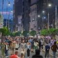 Cum a aratat Bucurestiul in prima zi cu strazi deschise doar pentru pietoni. Calea Victoriei a fost arhiplina