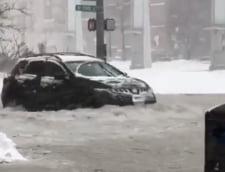 Cum a cauzat SuperLuna furtuna perfecta si a dus la inundatii ce au doborat recorduri (Video)
