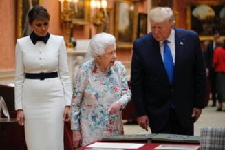 Cum a decurs prima zi a liderului american in Marea Britanie (Foto&Video)