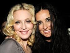 Cum a distrus Ashton Kutcher prietenia dintre Madonna si Demi Moore