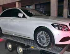 Cum a fost confiscat un Mercedes de 20.000 de euro de catre Politia de Frontiera