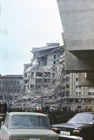 Cum a fost devastat Bucurestiul de cutremurul din '77 - imagini noi