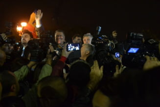 "Cum a fost primit Iohannis la Universitate: ""Danke schon, danke schon!"" (Galerie foto & video)"