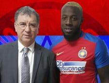 "Cum a jucat ""Bizonul"" Gnohere la debutul pentru Steaua"