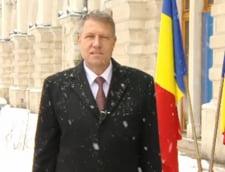 Cum a petrecut Klaus Iohannis Revelionul, alaturi de sotie si apropiati