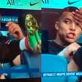Cum a putut Mbappe sa-l numeasca pe Neymar. Camerele TV au surprins imaginile de pe banca celor de la PSG