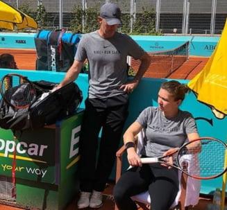Cum a reactionat Darren Cahill dupa eliminarea Simonei Halep de la US Open