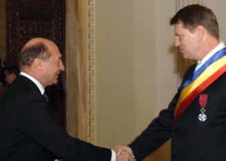 Cum a reactionat Iohannis, dupa ce Basescu l-a refuzat