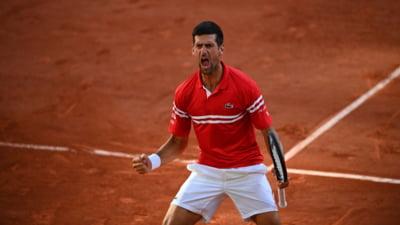 Cum a reactionat Novak Djokovici dupa ce a triumfat la Roland Garros VIDEO